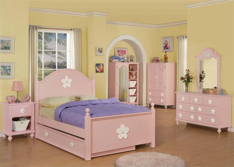 girls bedroom set floresville collection