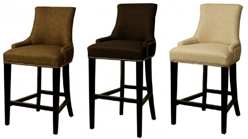 Charlotte Fabric Bar Stool : 108526 from www.romdecor.com size 800 x 451 jpeg 33kB