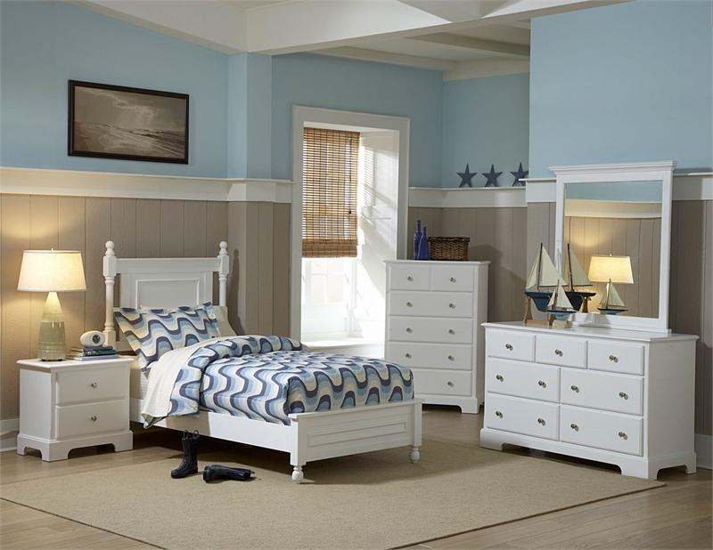 youth bedroom set white morelle collection homelegance 1356w