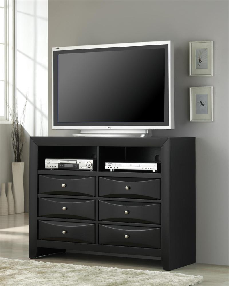 Bedroom Set Briana Collection - Media dresser for bedroom