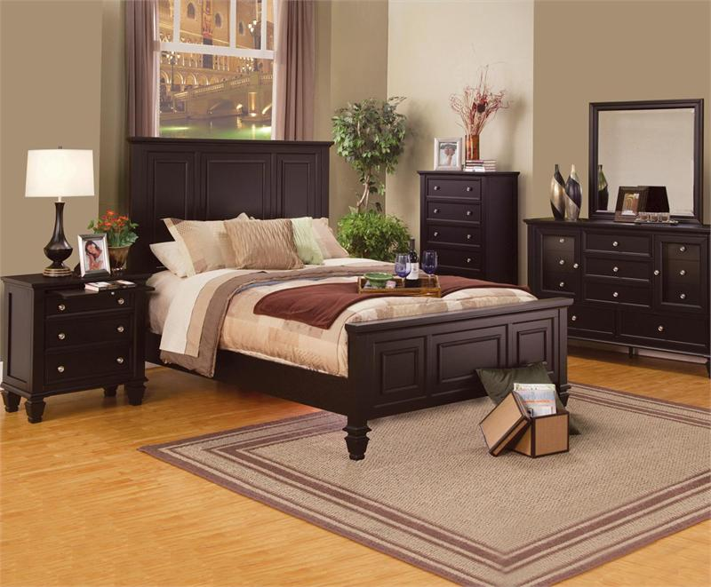 Bedroom Sets Espresso sandy beach espresso bedroom collection
