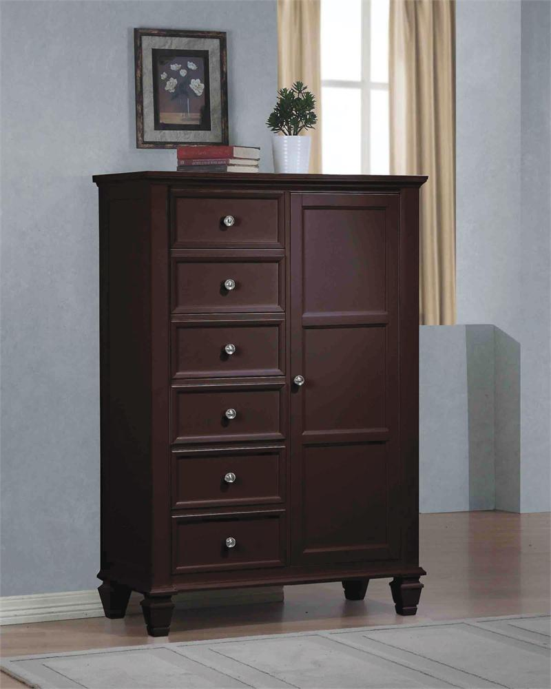 sandy beach espresso bedroom collection