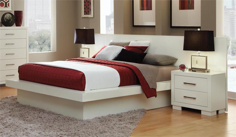 white jessica bedroom set by coaster item 202990