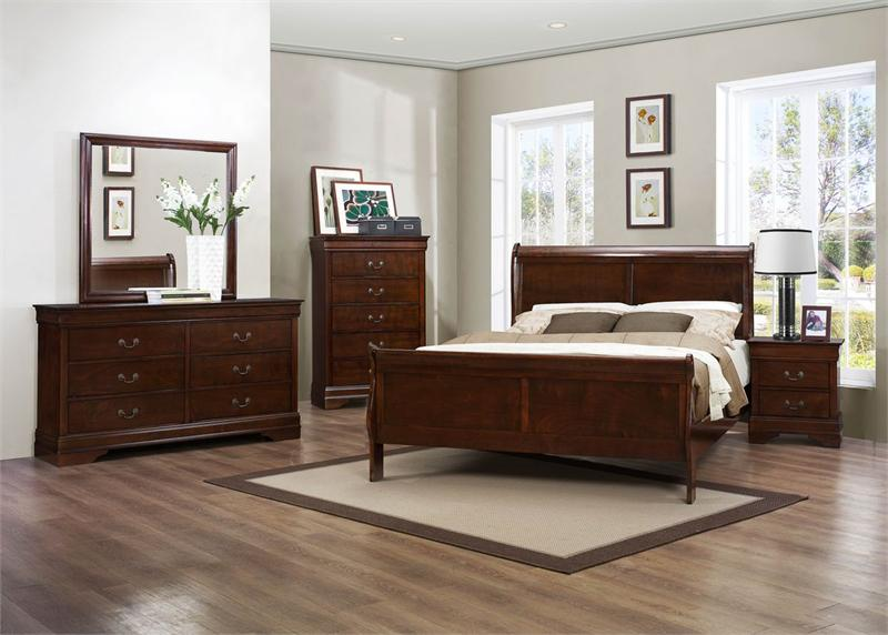 Mayville bedroom set collection for Juego de cuarto queen size