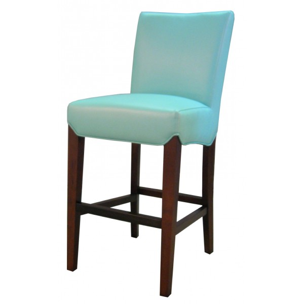 Milton Bounded Leather Counter Stool