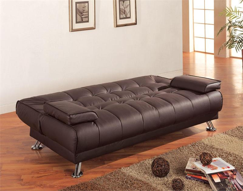 white futon sofa bed grey - Futon Sofa Beds