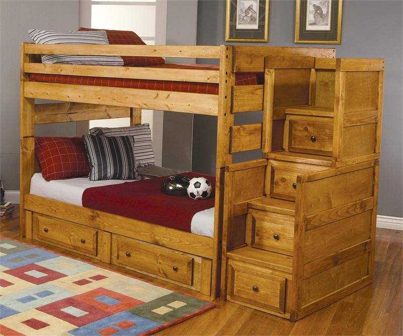 Full/Full Bunk Bed Wrangle Hill Collection - Wrangle Hill Bunk Bed Collection