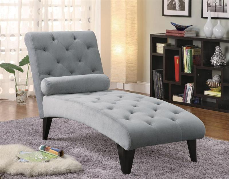 Gray velour chaise - Chaise pliante velours ...