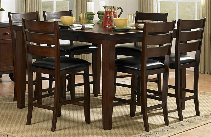 Counter Height Is : Counter height Dining Set Amellia Collection