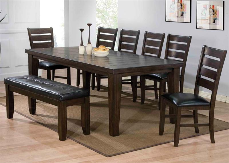 Espresso Dining Set Urbana Collection