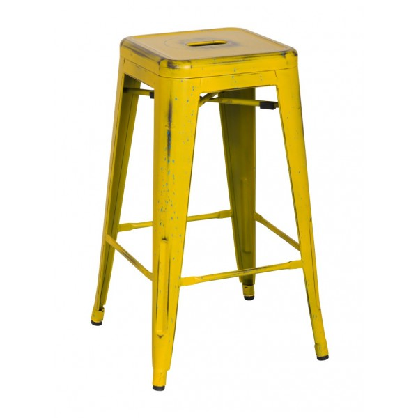 Yellow Metal Bar Stool images : 938626DY from gallerily.com size 600 x 600 jpeg 35kB
