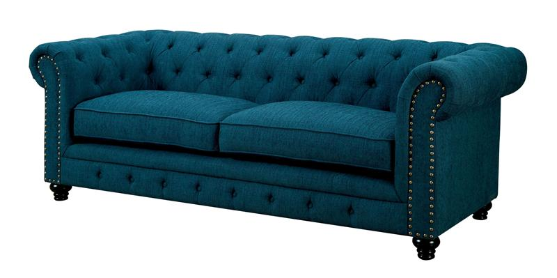 Cm6269tl Stanford Dark Teal Sofa Collection