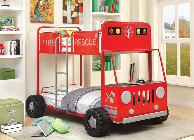 Twin/Twin Fire Rescuer Bunk Bed