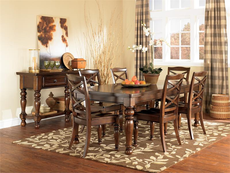 Porter Dining Set With Server By Ashley Furniture Item D697 35 D697