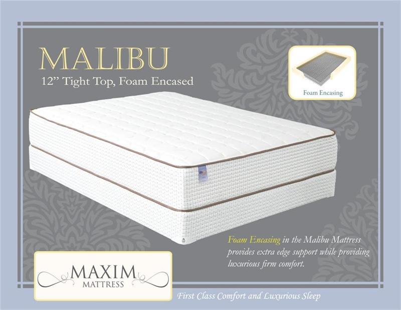 Luxury Firm Malibu Mattress By Maxim Mattress