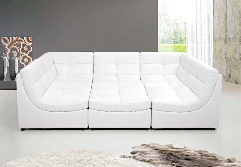 Cloud Black Modular Sectional Sofa