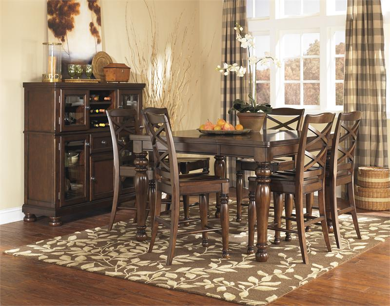 Porter Dining Room Table Set Further Ashley Furniture Porter Bedroom