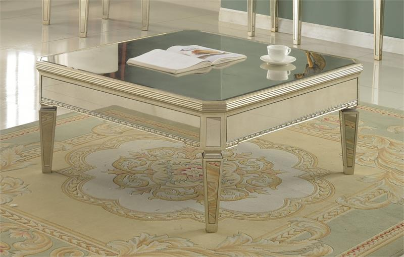 Nice Borghese Mirror Coffee Table Set T1830