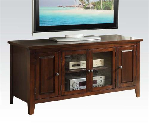 Christella Chocolate TV Stand,item 10346 by acme