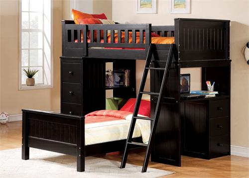 Willoughby Twin Loft Bed 10980 Acme ,10980 acme,10988 acme