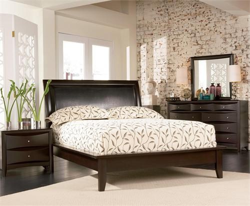 Espresso Platform Bedroom Set - Pheonix Collection  item 200410 by Coaster Furniture