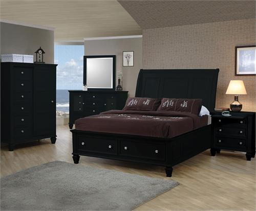 Sandy Beach Black Storage Bedroom Collection item 201329  by Coaster Furniture