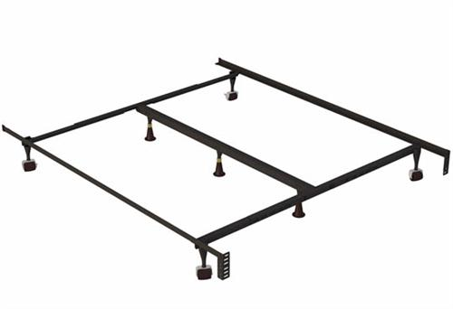 Queen/King/Calking Adjustable Metal Frame