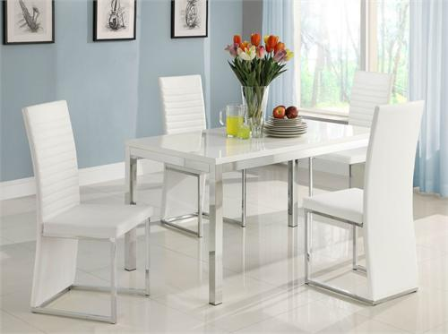 Clarice Collection Dining Set : 2447 from www.romdecor.com size 500 x 373 jpeg 21kB