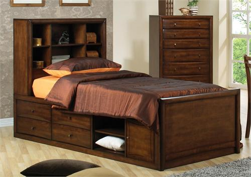 Storage Bed Scottsdale Collection,full storage bed,twin storage bed,item 400280F by coaster,item 400280T by coaster