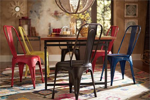 Amara Metal Chairs,5034 homelegance,metropolis