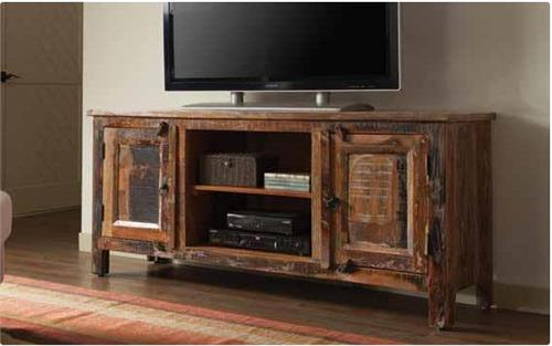 Reclaimed Wood TV Stand 700303 Coaster,vintage tv stand