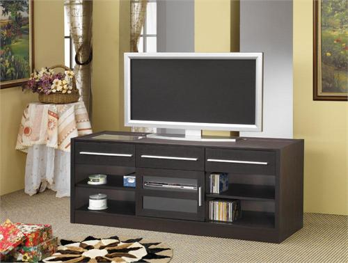 "60"" TV Stand Item # 700650 by Coaster, cappuccino finish"