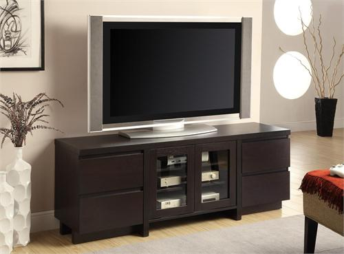 "60"" TV Stand Item # 700695,by Coaster, Cherry finish"