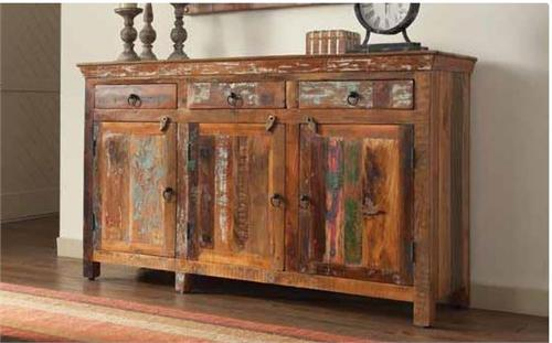 Reclaimed Wood Cabinet,Vintage cabinet 950367 coaster,950367 coaster
