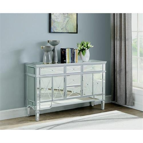 Mirror Accent Cabinet 950829 by Coaster Furniture