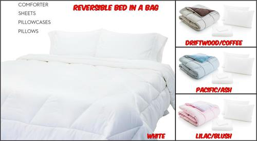 Reversible Bed in a Bag by Malouf Colors