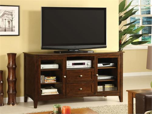 "60"" TV Stand Lanchaster Collection Item CM5420-TV Import Direct Furniture"