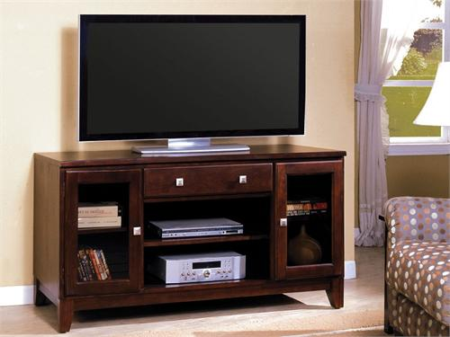 "60"" TV Stand Aracelly Collection Item CM5607-TV by Import Direct Furniture"