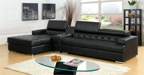 Floria Black Sectional CM6122BK,cm6622,cm6622BK import direct,cm6122rd import direct,cm6122wh import direct