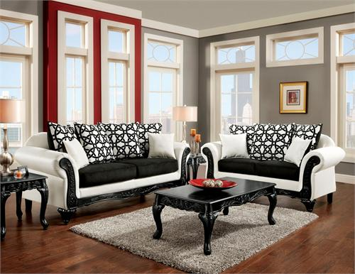 SM7600 Dolphy Sofa Collection,sm7600 furniture of america
