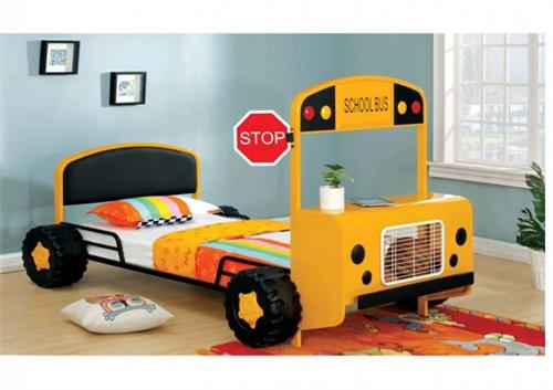 Field Tripper Twin Bed,cm7797 furniture of america,bus bed