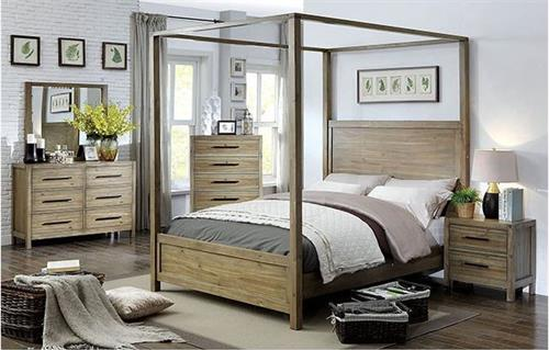 Garland Canopy Bedroom Collection,cm7355 furniture of america,cm7355 bedroom