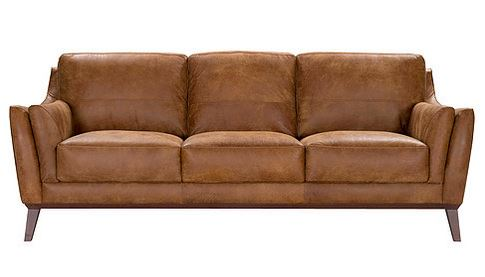 Dalby Vintage Brown Top Grain Leather Sofa Collection,54050 acme,54051 acme,54052 acme