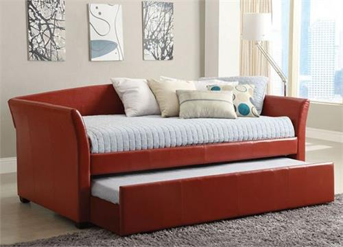 Delmar Red Day Bed