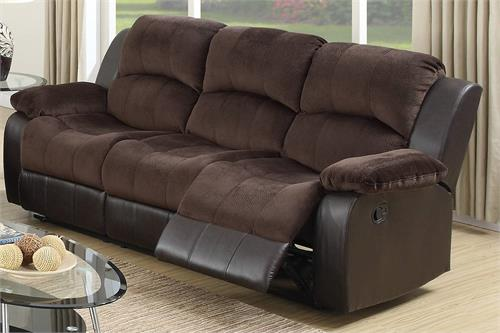 Recliner Sofa Collection Poundex F6696,f6696 poundex