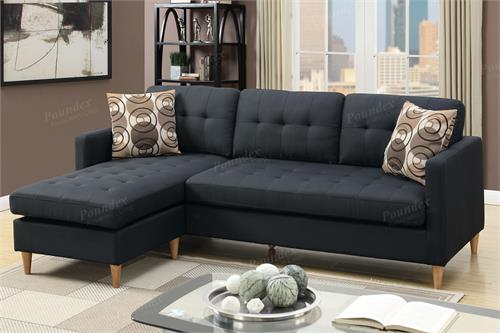 Reversible Sectional F7084 Poundex,f7084 poundex