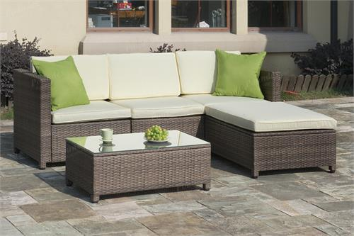 5 Piece Outdoor Sectional Set,p50244 poundex