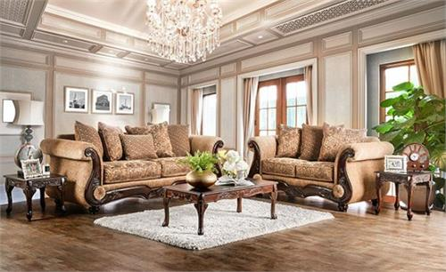 Nicanor Sofa Set Collection SM6407,sm6407 furniture of america