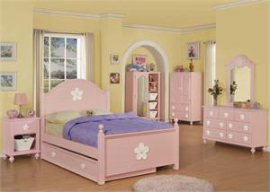 Girls Bedroom Set -Floresville Collection,00730F by acme,00730T,00738 by acme,00739 by acme,00740 by acme,00741 by acme,00742 by acme,00743 by acme
