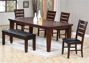 Cherry Dining Set Urbana Collection item 04620 by Acme Furniture